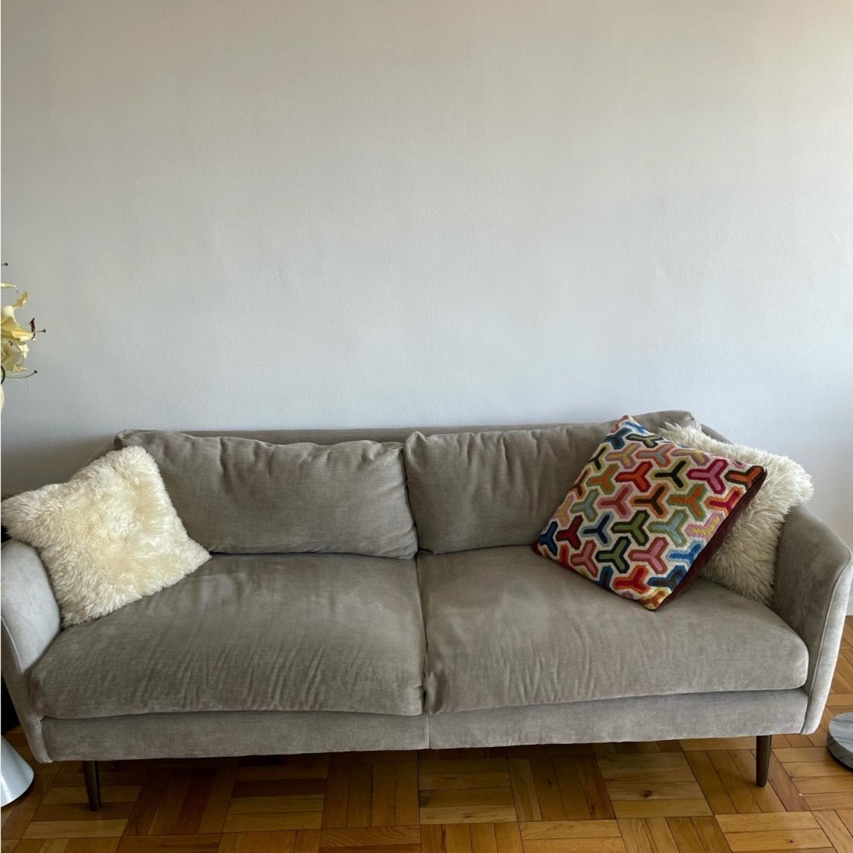 """West Elm Grey Sloane Sofa - 78"""" - image-3"""