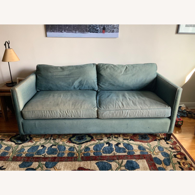 ABC Denim Blue Sofa - image-2