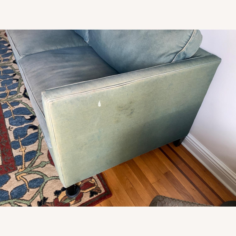 ABC Denim Blue Sofa - image-1