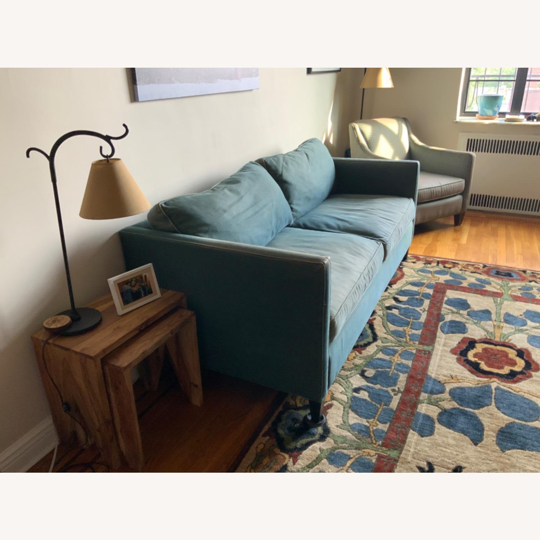 ABC Denim Blue Sofa - image-5