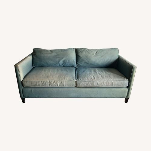 Used ABC Denim Blue Sofa for sale on AptDeco