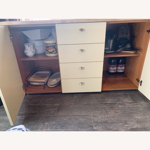 Used Marble Credenza for sale on AptDeco