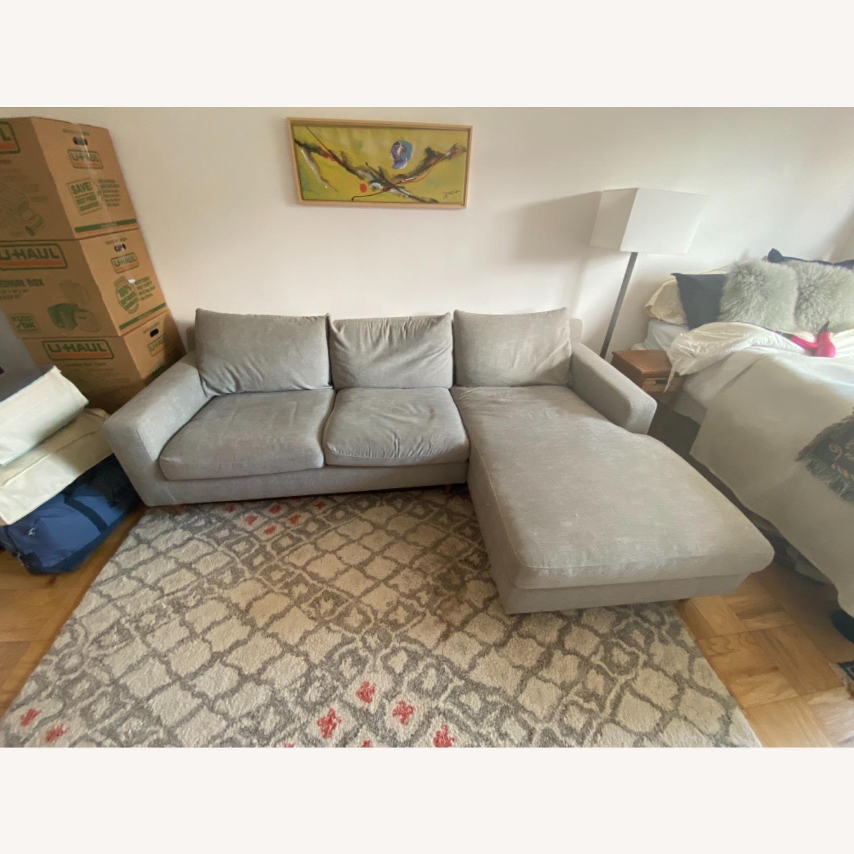 Interior Define Slate Sectional Sofa - image-1
