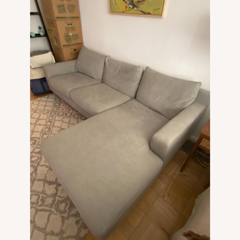 Interior Define Slate Sectional Sofa - image-3