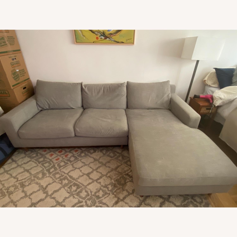 Interior Define Slate Sectional Sofa - image-4