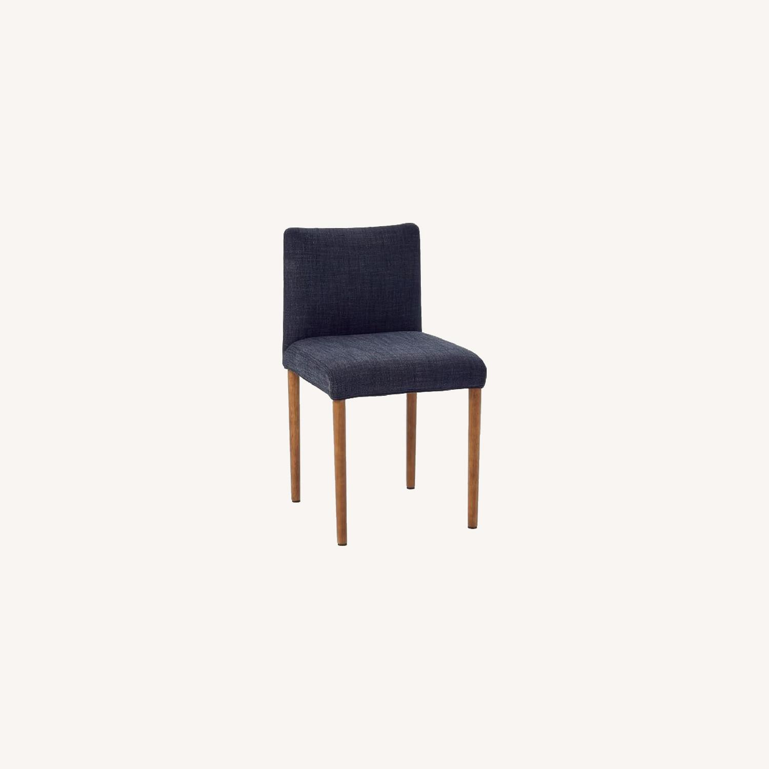West Elm Upholstered Dining Chair - image-0