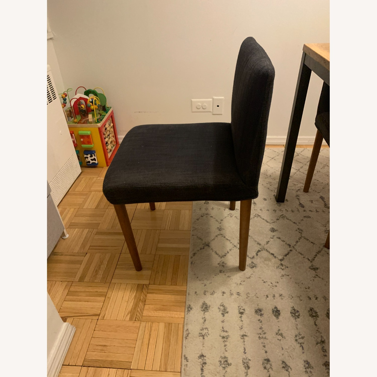 West Elm Upholstered Dining Chair - image-4