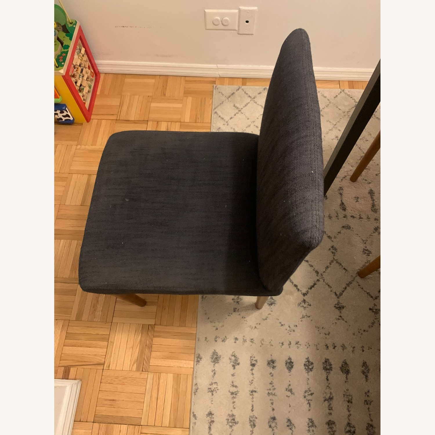 West Elm Upholstered Dining Chair - image-3