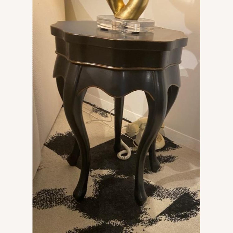 Black Side Table - image-0