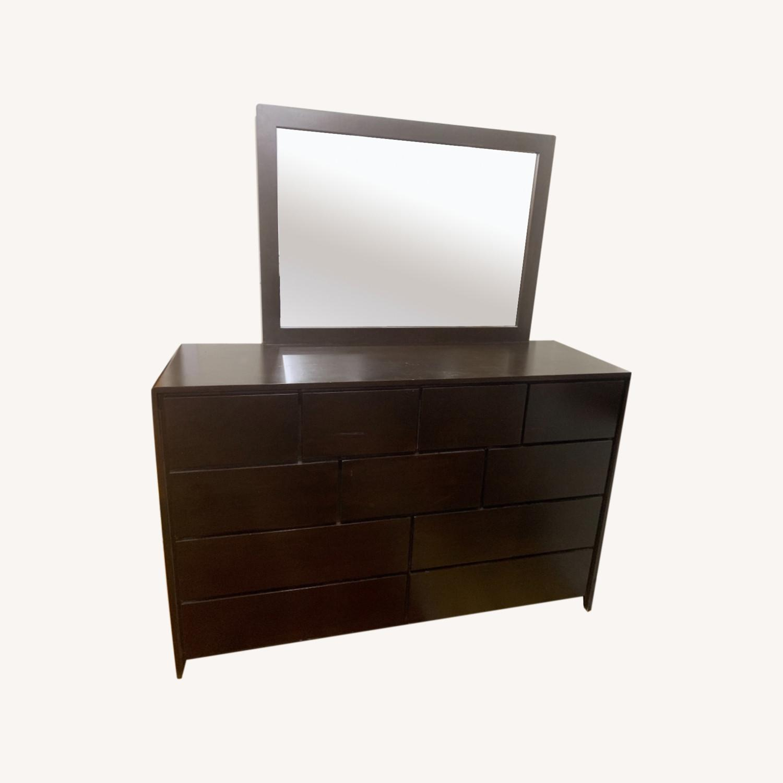 Gothic Cabinet Craft Dependable Dresser w/Mirror - image-0