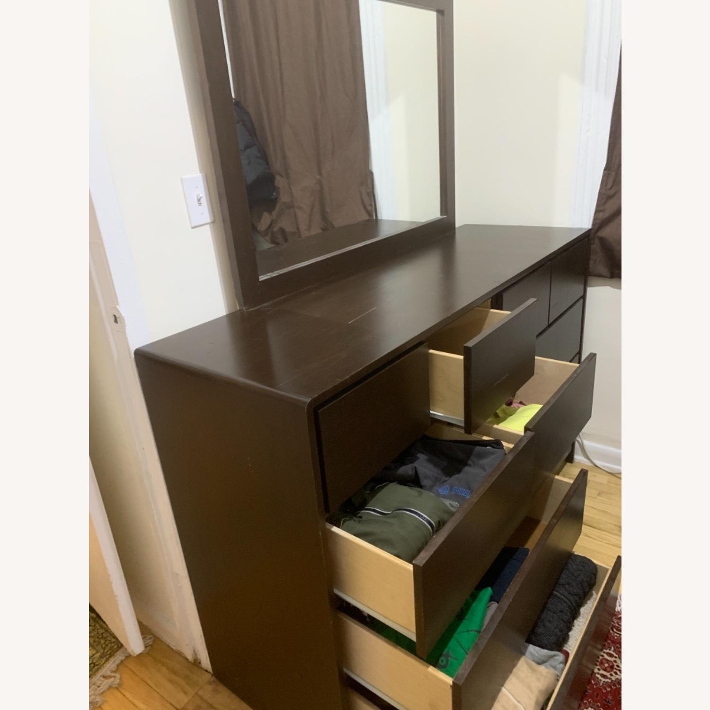 Gothic Cabinet Craft Dependable Dresser w/Mirror - image-3
