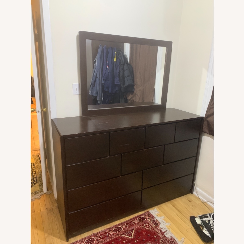 Gothic Cabinet Craft Dependable Dresser w/Mirror - image-2