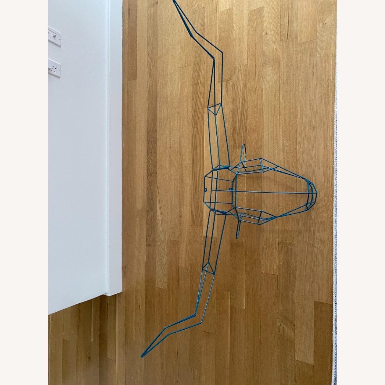 Bend Goods Longhorn Wire Sculpture - image-3