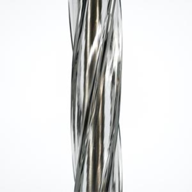 Donghia Piroetto Basso Gray Glass Floor Lamp - image-9