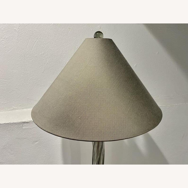 Donghia Piroetto Basso Gray Glass Floor Lamp - image-11