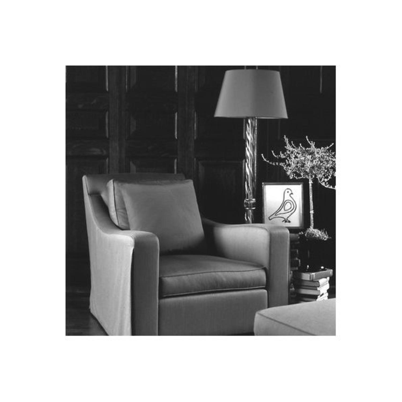 Donghia Piroetto Basso Gray Glass Floor Lamp - image-5