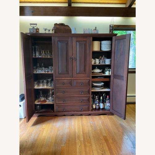 Used Vintage Brazilian Rosewood Media/Storage Armoire for sale on AptDeco