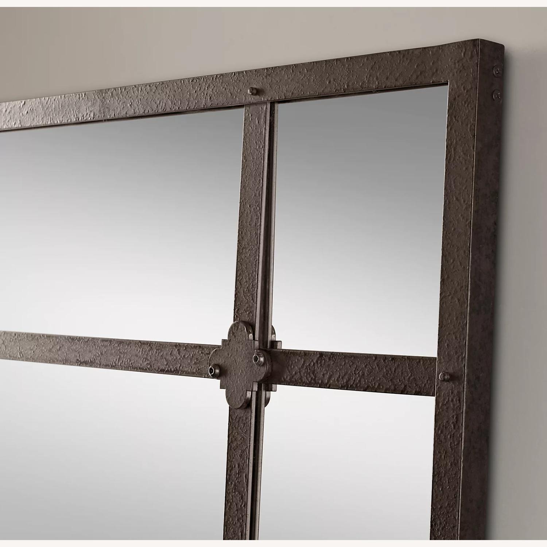 Restoration Hardware Factory Panel Leaner Mirror - image-1