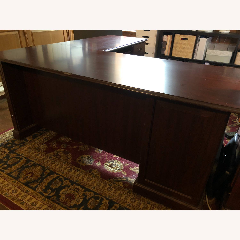 Bush Furniture Saratoga L Shaped Computer Desk - image-3