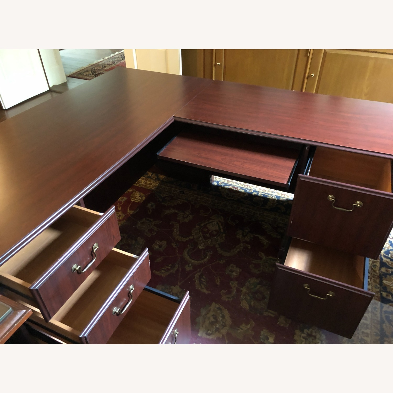 Bush Furniture Saratoga L Shaped Computer Desk - image-7