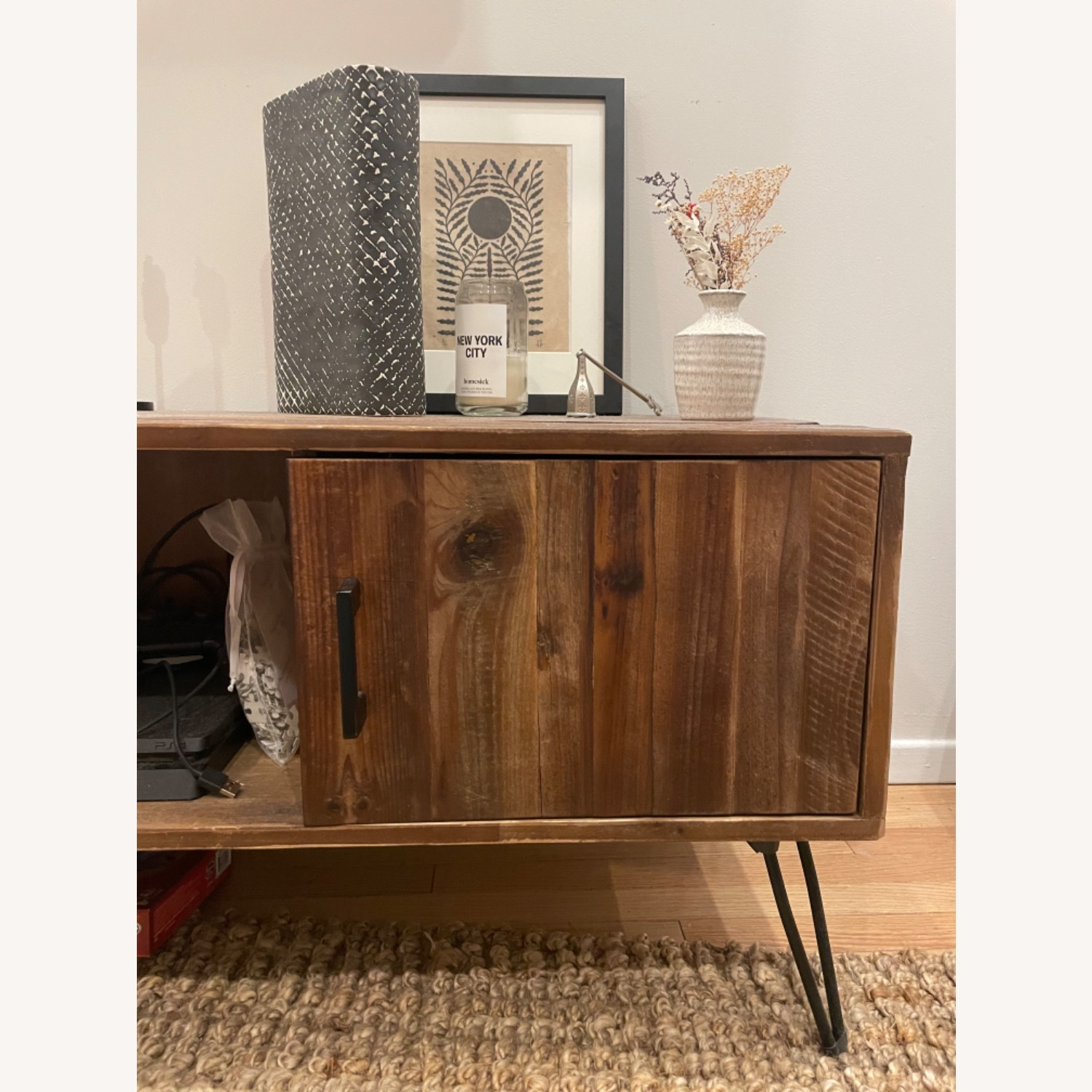 Wayfair Adger Solid Wood TV Stand - image-2