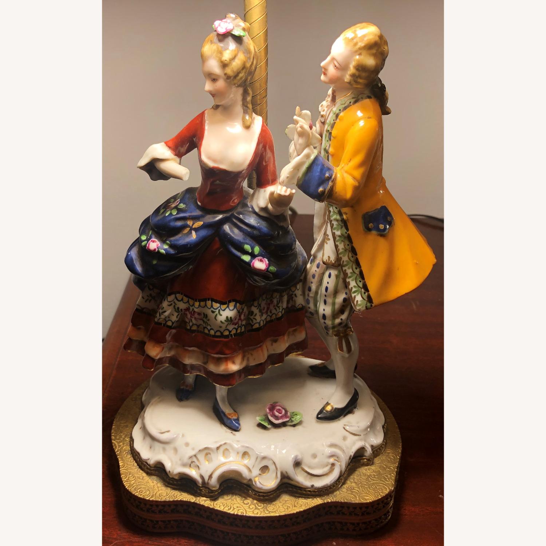 Porcelain Figurine Table Lamp B - image-2