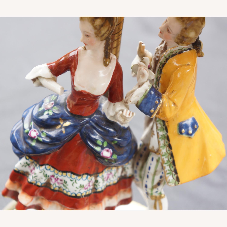 Porcelain Figurine Table Lamp B - image-5
