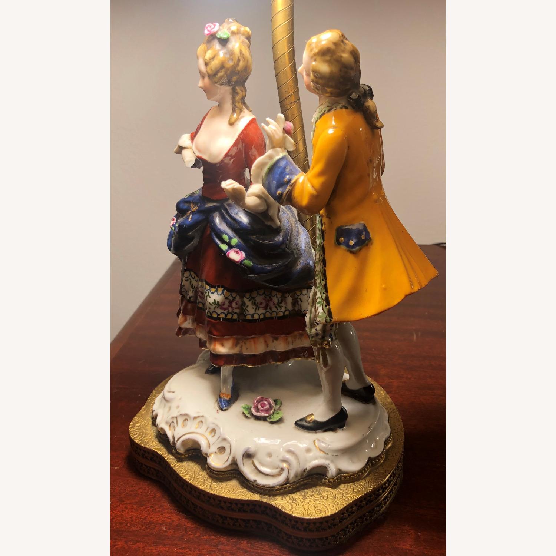 Porcelain Figurine Table Lamp B - image-4