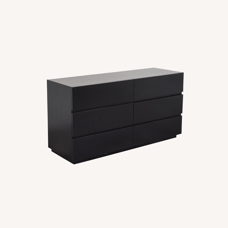 Crate and Barrel 6 Drawer Pavillion Dresser - image-0