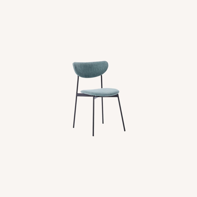 West Elm Mid Century Modern Petal Dining Chair - image-0