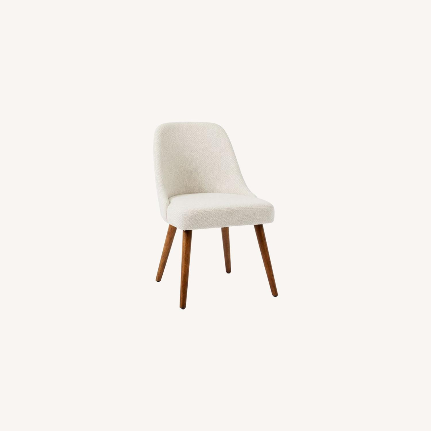West Elm Mid Century Upholstered Dining Chair - image-0