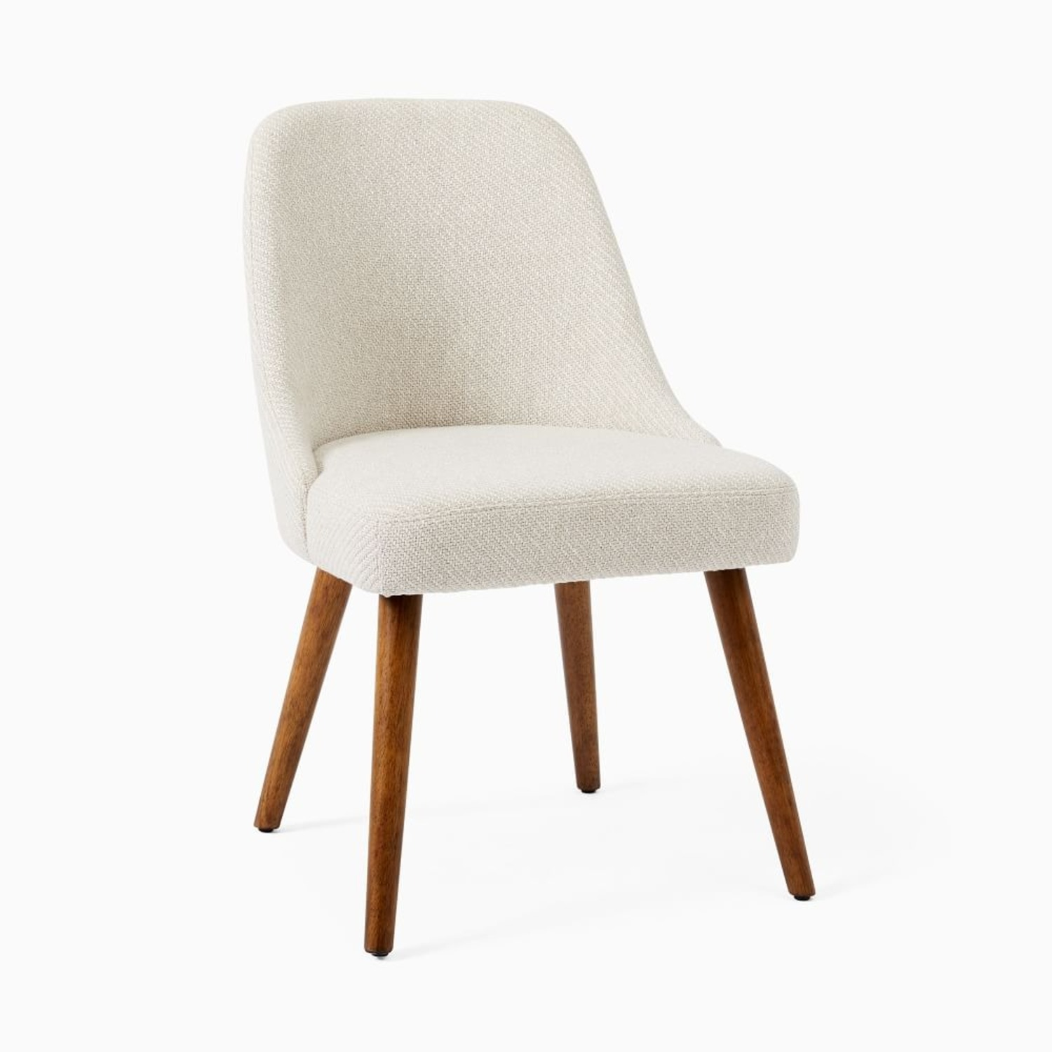 West Elm Mid Century Upholstered Dining Chair - image-3