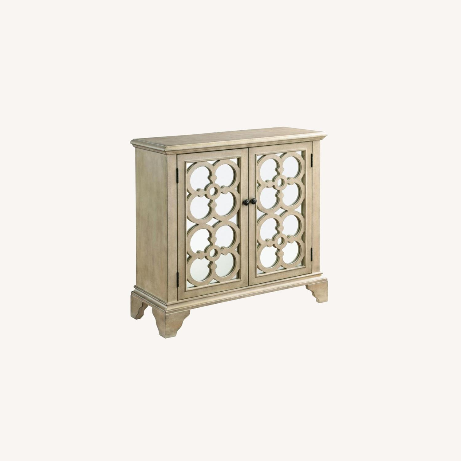 Accent Cabinet In Natural Hardwood Finish - image-3