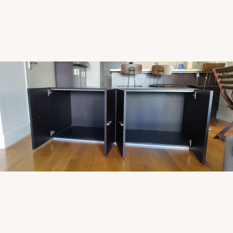 Crate & Barrel Solid Wood Storage Unit - image-7