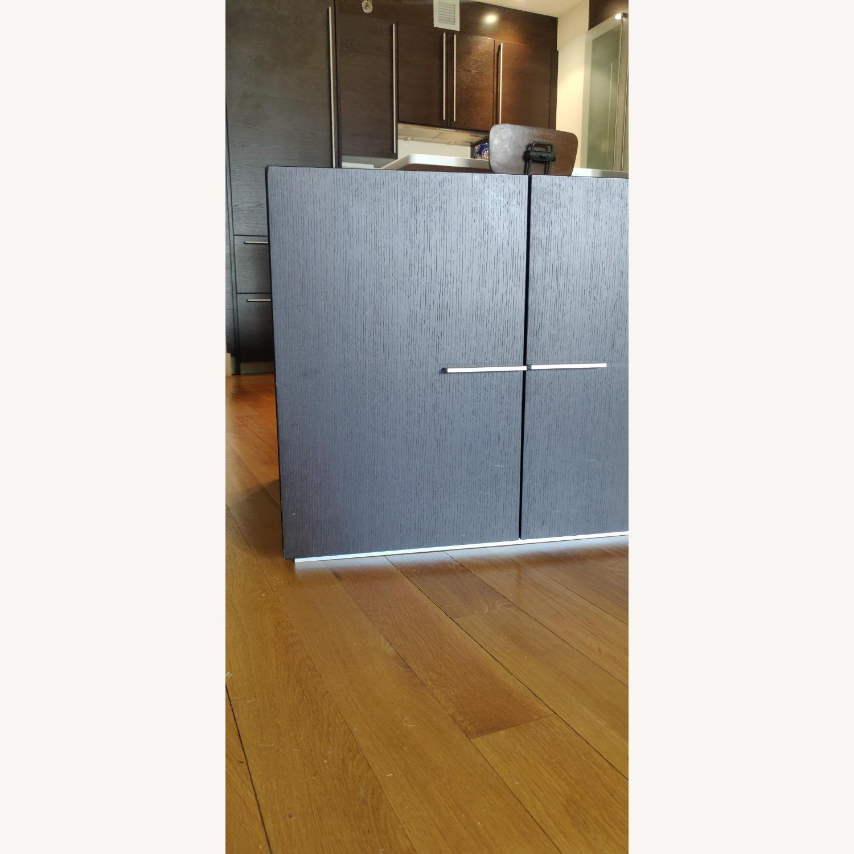 Crate & Barrel Solid Wood Storage Unit - image-8