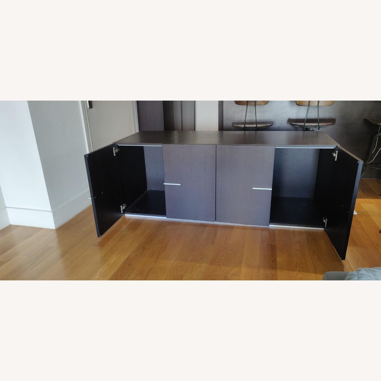 Crate & Barrel Solid Wood Storage Unit - image-3