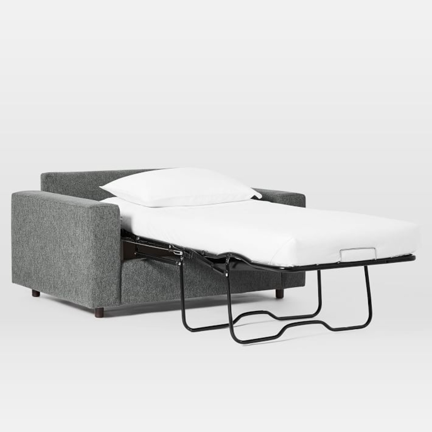 West Elm Urban Chair and a Half Twin Sleeper - image-1