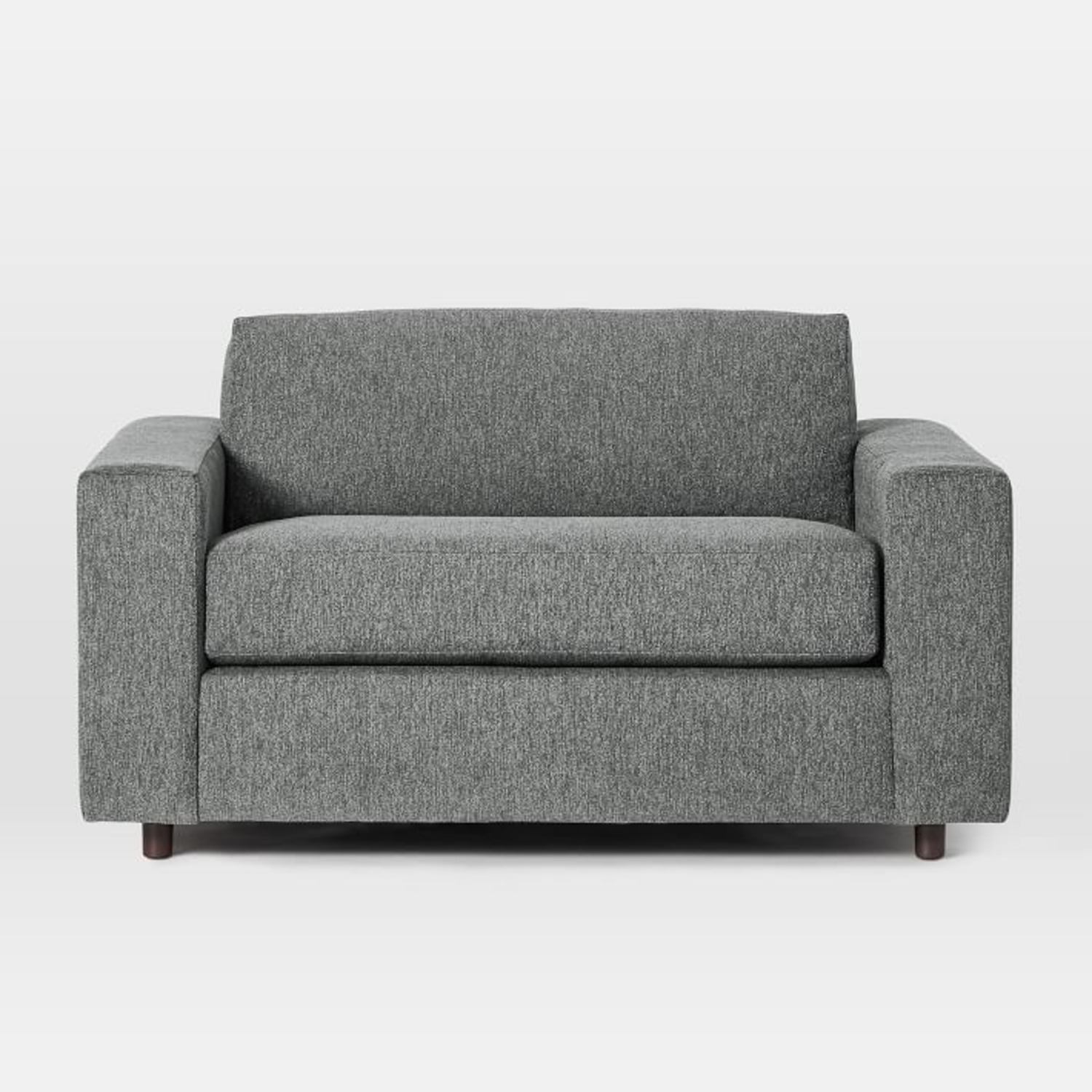 West Elm Urban Chair and a Half Twin Sleeper - image-3