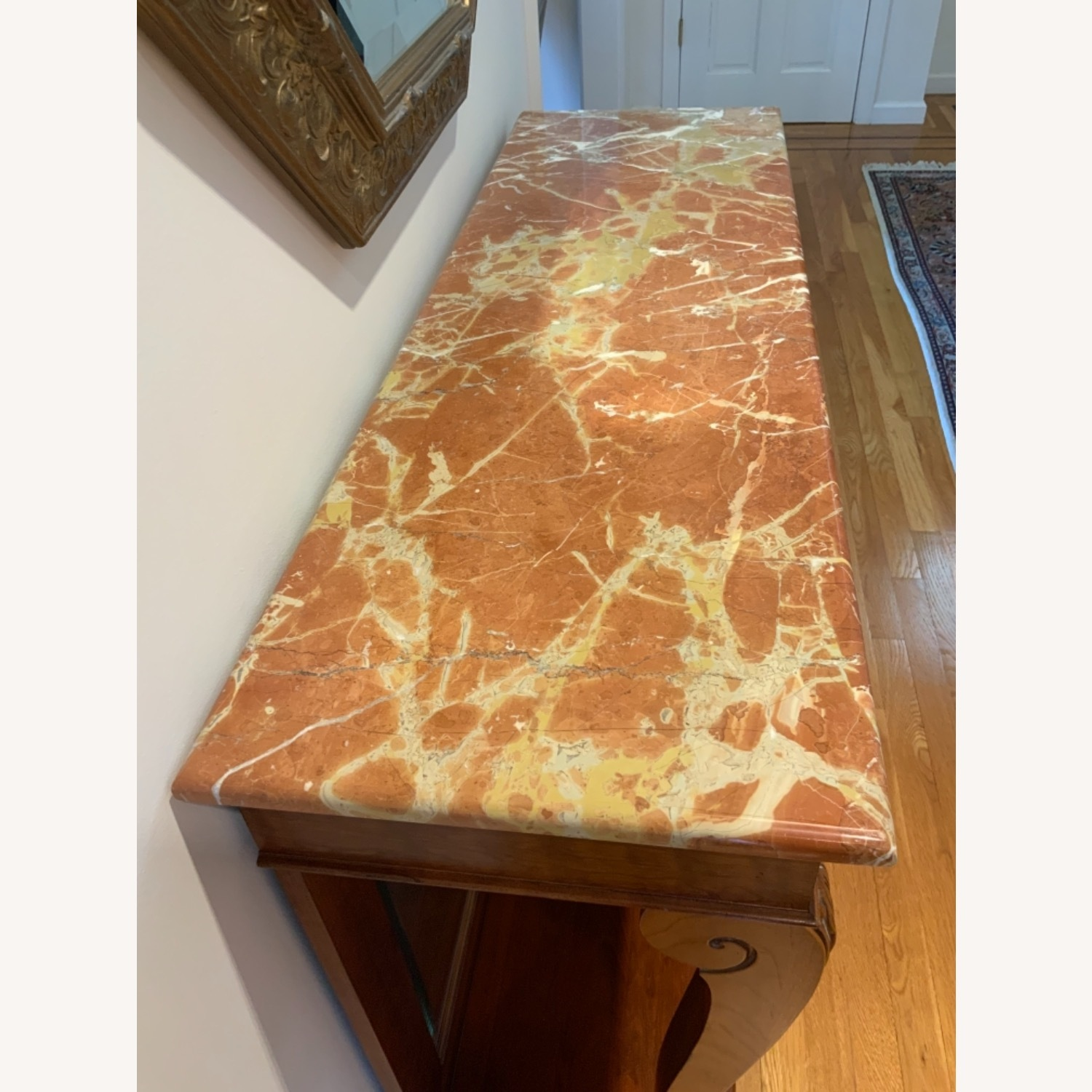 Ethan Allen Marble Console Table - image-3