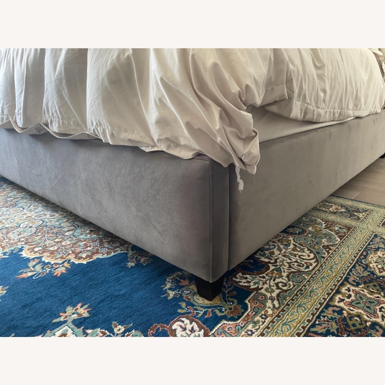 Arhaus King Tufted Nailhead Bed - image-5