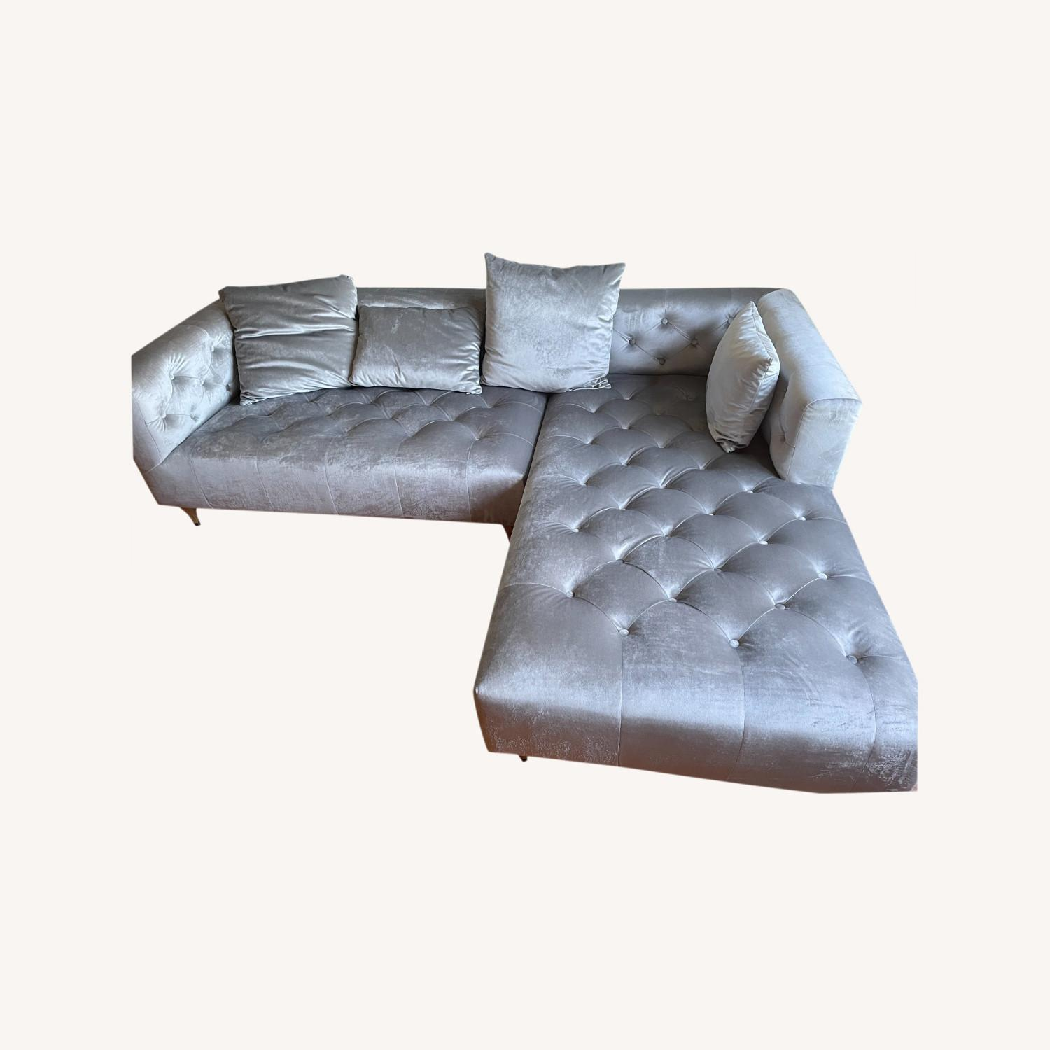 Interior Define Ms. Chesterfield Sectional - image-0