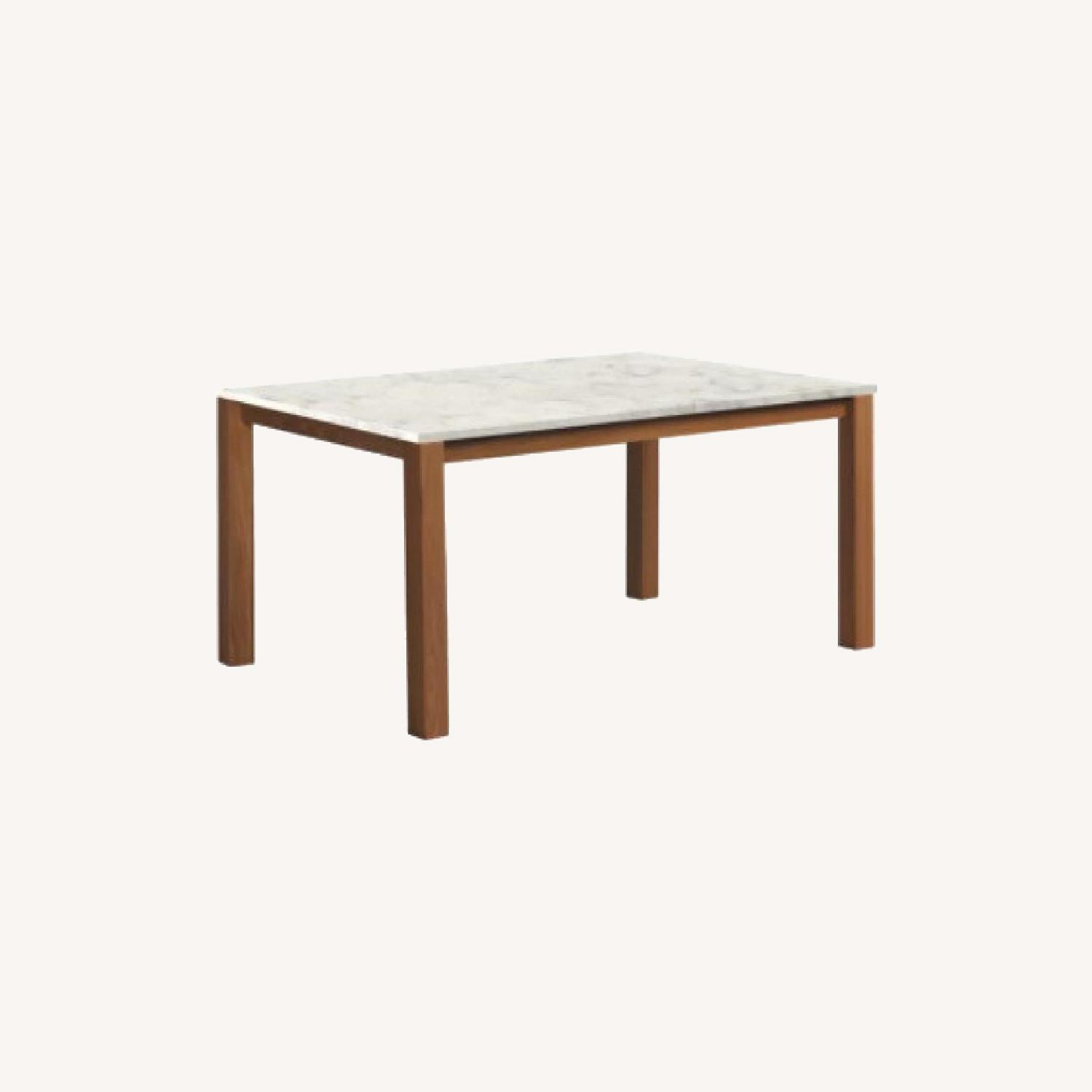 Room & Board White Quartz Top Linden Dining Table - image-9