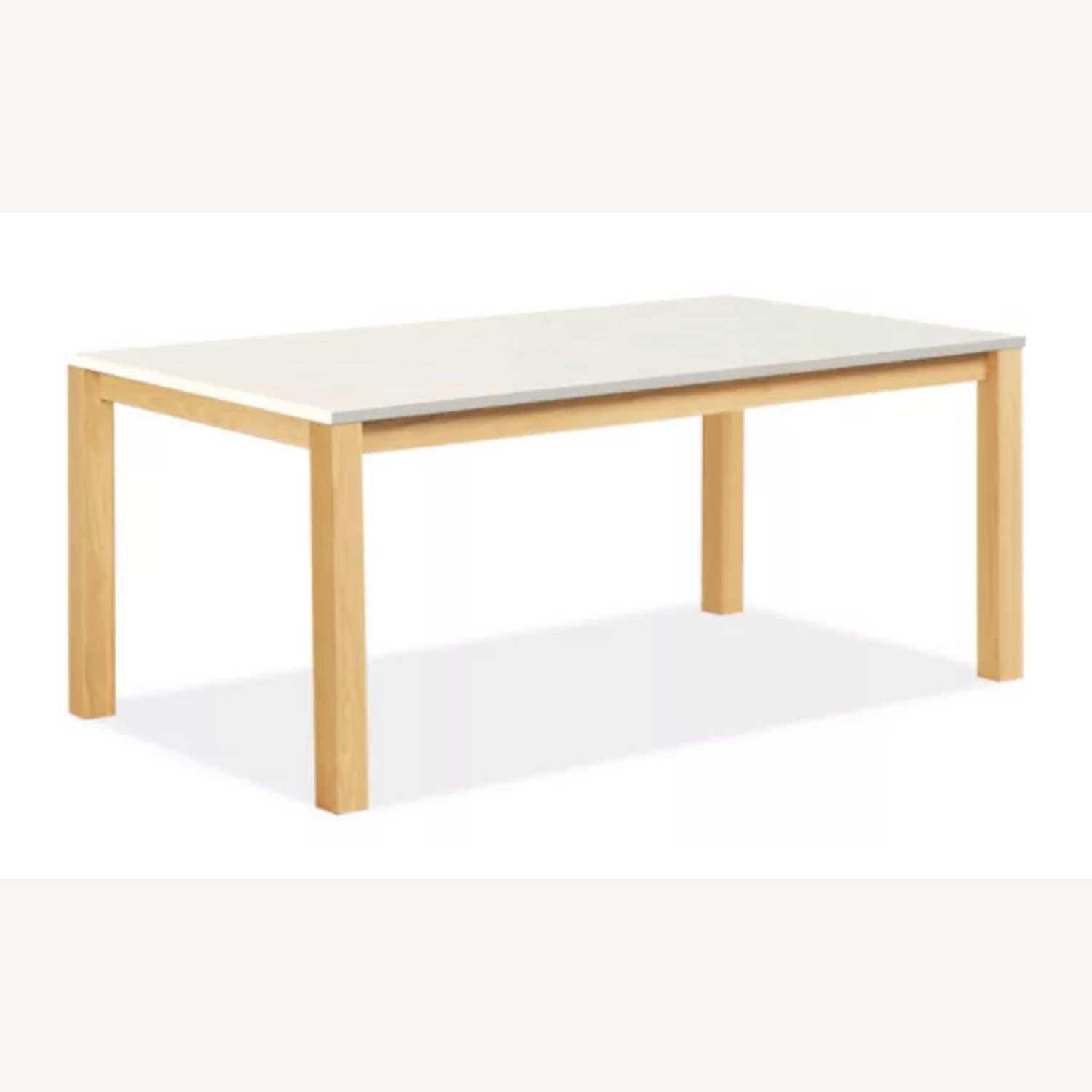 Room & Board White Quartz Top Linden Dining Table - image-0
