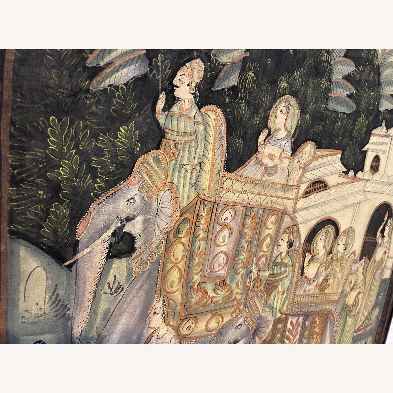 Vintage Indian Hindu Processional Folk Art - image-3