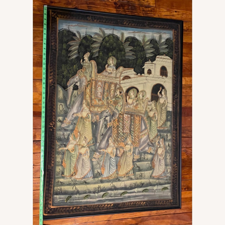 Vintage Indian Hindu Processional Folk Art - image-7