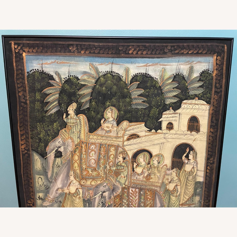 Vintage Indian Hindu Processional Folk Art - image-4