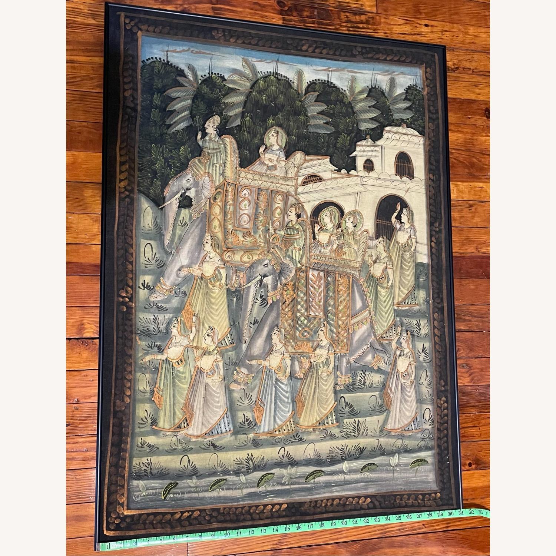Vintage Indian Hindu Processional Folk Art - image-8