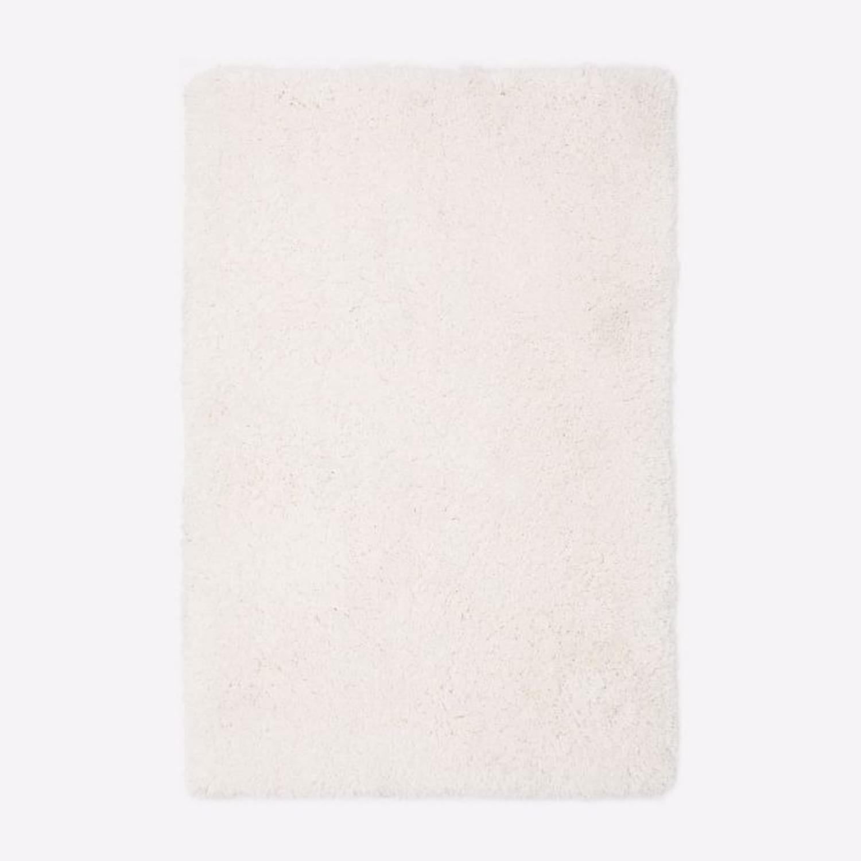 West Elm Cozy Plush Rug, White, 6'x9' - image-3