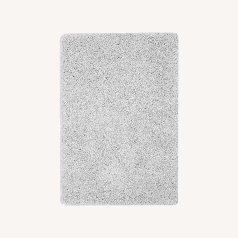 West Elm Cozy Plush Rug, Frost Gray, 6'x9' - image-0