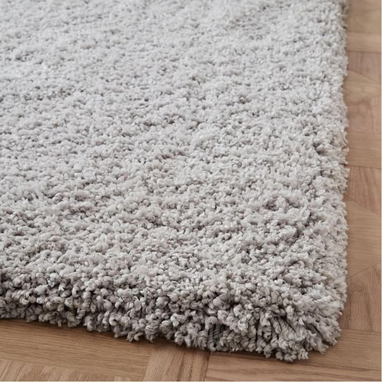 West Elm Cozy Plush Rug, Frost Gray, 6'x9' - image-2
